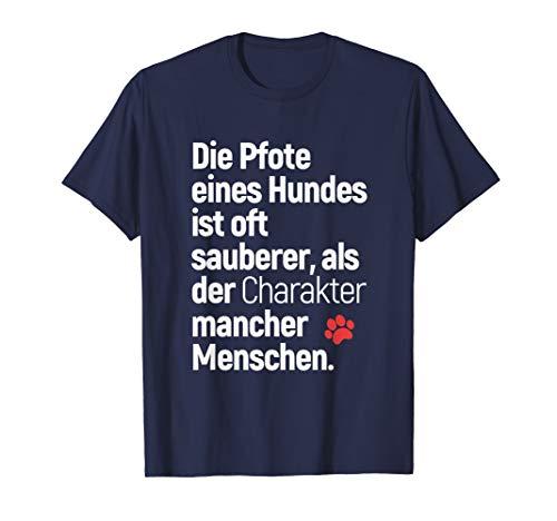 T-Shirt mit Hundemotiv - Die Pfote eines Hundes ist...