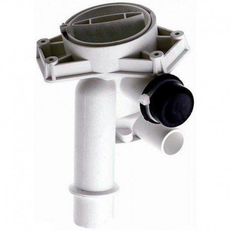 FILTRO POMPA SCARICO PLASET COMPLETO LAVATRICE CANDY ZEROWATT ORIGINALE 49002227