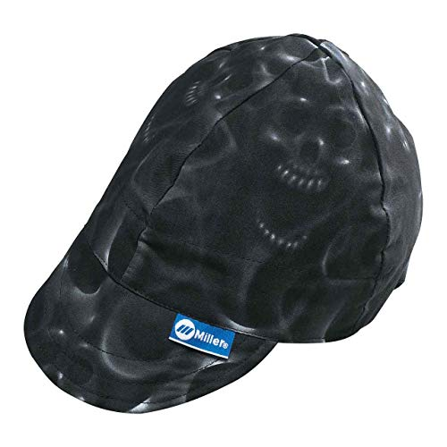 Miller Genuine Arc Armor Ghost Skulls Welding Cap 7-3/8' - 230544