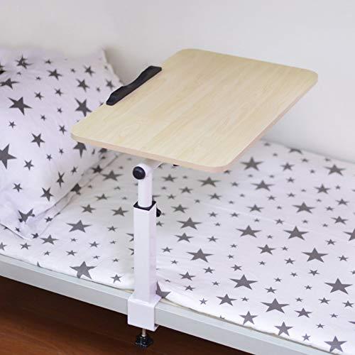 XBSXP Mesa para portátil Ajustable Soporte para portátil Cama de pie portátil Escritorio Sofá Plegable Bandeja de Desayuno Uso de la Cama Dormitorio Mesa pequeña Escritorio Perezoso-A