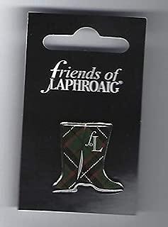 FRIENDS OF LAPHROAIG SCOTCH MALT WHISKY LAPEL PIN/PIN BADGE (GLENCAIRN)