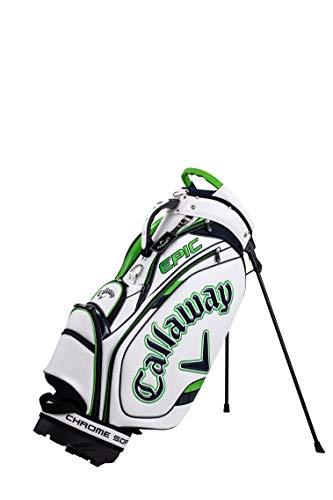 キャロウェイ(Callaway)キャディーバッグTOURスタンドタイプメンズ2021年モデルホワイト/ネイビー/グリーン5121039