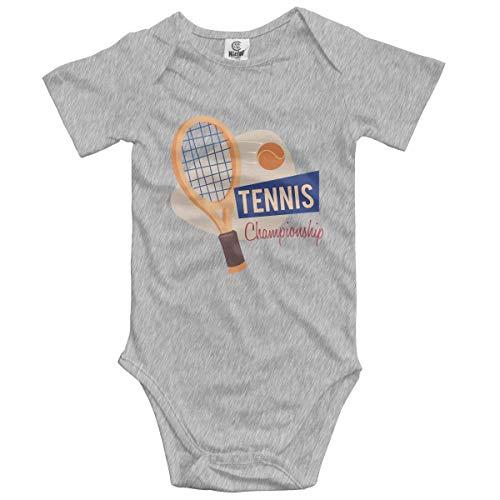 Klotr Unisex Baby Body Kurzarm Tennis Newborn Bodysuits Baumwolle Strampler Outfit Set