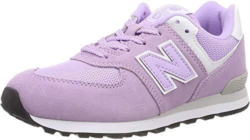New Balance Unisex 574 Sneaker, Pink (Cashmere/White Em), 39 EU