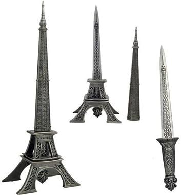 """Eiffel Tower Dagger 10"""" Letter Opener"""