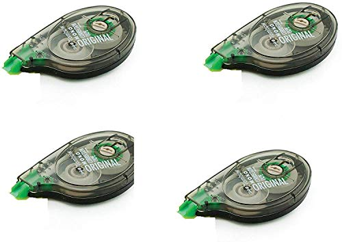 Tombow 68720 MONO Original Correction Tape, 10-Pack. Easy To Use Applicator for Instant Corrections (4 pack)