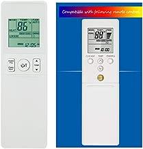 CHOUBENBEN Compatible with Fujitsu Air Conditioner Remote Control AR-REG1U ARREG1U AGU9RLF AGU12RLF AGU15RLF ASU7RLF1 ASU9RLF1 ASU12RLF1 ASU15RLF1 Display in Both Fahrenheit and Celsius