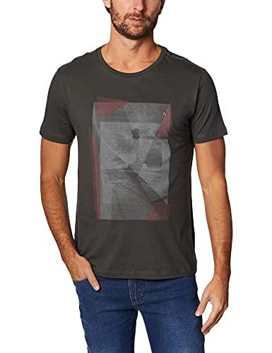 Camiseta Estampa Fragmentos (Pa),Aramis,Masculino,Verde,XGG