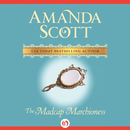 The Madcap Marchioness audiobook cover art
