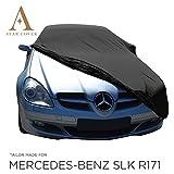 AUTOABDECKUNG SCHWARZ Mercedes-Benz SLK-Class (R171) SCHUTZHÜLLE ABDECKPLANE