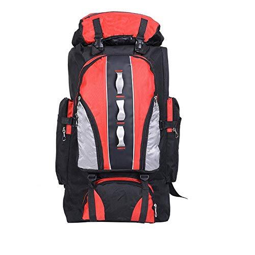 Ssszx Trekkingrugzak, 100 liter, grote rugzak, outdoor, sport, waterdicht, nylon, rugzak, dames en heren, wandelen, kamperen, wandelen, vissen, rugzak