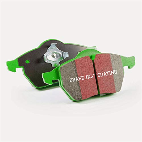 EBC Brakes DP61799 6000 Series Greenstuff Truck and SUV Rear Brake Pad