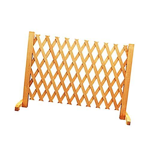 QBZS-YJ hek telescopische hek hek gepotte decoratie houten outdoor scherm behuizing uitbreidbaar vrijstaande hout tuin Trellis hek