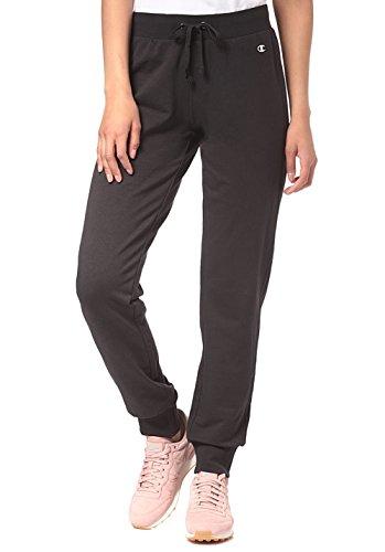 Champion Damen Rib Cuff Pants-American Classics Sporthose, Schwarz (NBK), W26 (Herstellergröße: Taille Fabricant S)