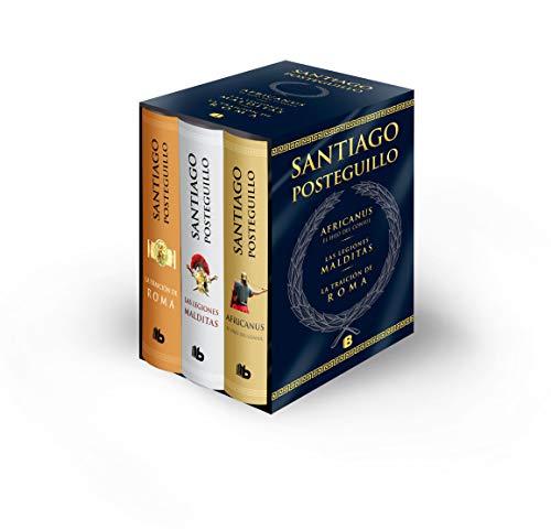 Trilogía Africanus: Edición estuche: El hijo del cónsul | Las legiones malditas | La traición de Roma (B DE BOLSILLO)