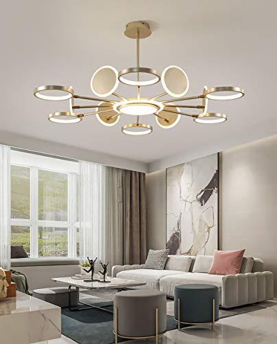 lampadario soggiorno sospeso Lampadario A LED Con Telecomando