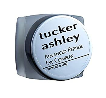 tucker ashley Advanced Peptide Eye Complex Anti-Aging Anti-Wrinkle Effect Helps Reduce Dark Circles Hydrates Helps Stimulate Collagen Production 0.5 oz