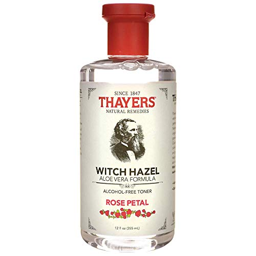 Witch Hazel Aloe Vera Formula - Rose Petal 12 fl Ounce (355 ml) Liquid