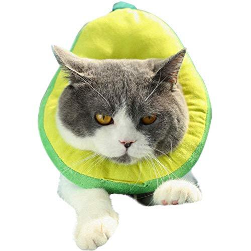 Irinay Schutzkragen Fur Katze Katzen Halskrause Verstellbar Weich Chic Soft Anti Biss Safty Kragen Wundheilung Wiederherstellung Fur Kleine Haustiere(Sortierte Farbe)