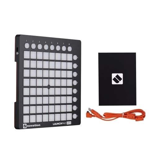 SUPRIEE Musikinstrumente Set Ultra-kompakter USB-MIDI-Drum-Pad-Controller (Farbe : Schwarz, Größe : Ones)