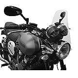 Moto Parabrisas Fly Pantalla Streetfighter Naked Músculo Bicicleta - Transparente Pantalla