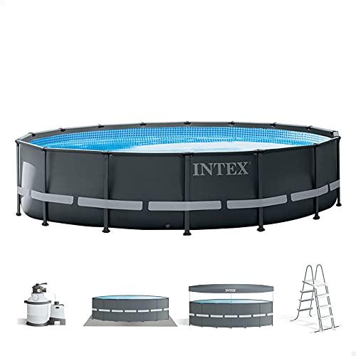 Intex 26326NP - Piscina elevada redonda INTEX Ultra XTR Frame 488x122 cm con depuradora