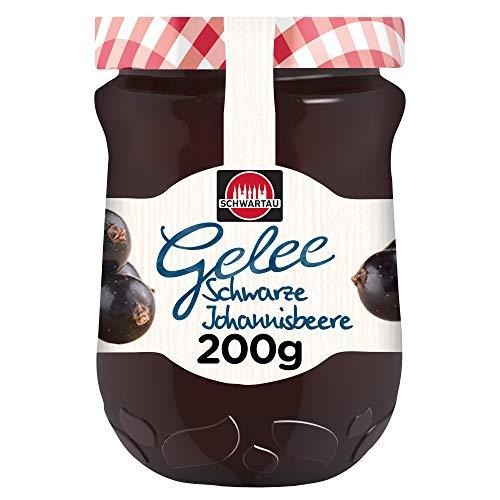 Schwartau Gelee nach Hausfrauenart Schwarze Johannisbeere, 6er Pack (6 x 200 g)