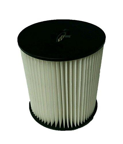 GIBTOOL Cartidge HEPA Filter for Dirt Devil 7inch Central Vacuum Filter Replaces 8106-01 Vacuflo Tcs-5525 Pro Series 390 Royal CS400 CS620 Platinum Force 299e CV1800 CV2000 Dirt Devil Hepa Filter Cartridge
