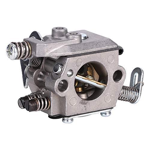 Xinwoer Repuesto de carburador, Piezas de Motosierra de Superficie anodizada de Aluminio Fundido a presión para Motosierra S-tihl MS170