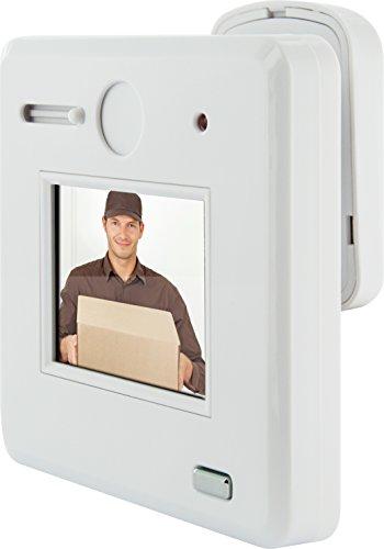 SCHWAIGER -791- Digitaler und optischer Türspion/Mini Kamera versteckt mit HD Bild/kabellos/Schutz vor unerwünschten Besuchern/einfache Montage