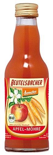 Beutelsbacher, Apfel-Möhren-Saft, 0,2l (0,15 fPand)