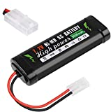 Hootracker 7.2V 5000mAh Ni-MH Battery with KET-2P Connector for RC Car Battery Power Tools Household...