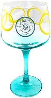 MALFY Gin Con Limone COPA Glas - Exklusives Gin Glas im italienischen Retro-Design