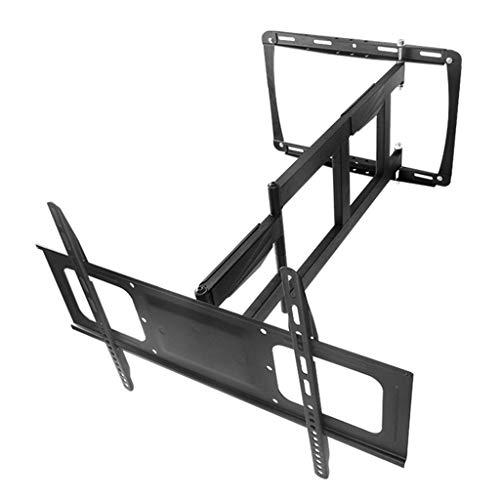 Mesas para TV Soporte de TV Soporte de Pared móvil Universal Pantalla articulada Brazo articulado VESA hasta 600 * 400 mm (Color : Black, Size : 65 * 40 * 6cm)