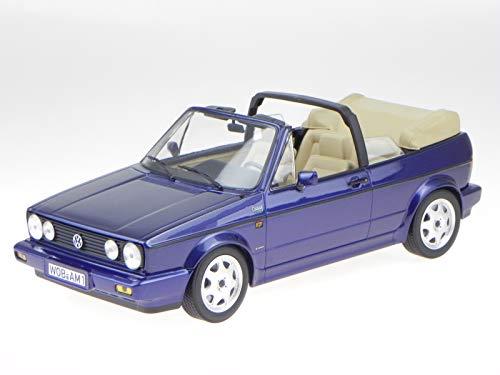 Norev VW Golf 1 Cabrio 1992 blau metallic Modellauto 188432 1:18