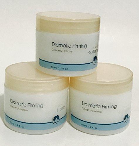Avon solutions dramatic firming cream 1.7 fl Oz lot of 3