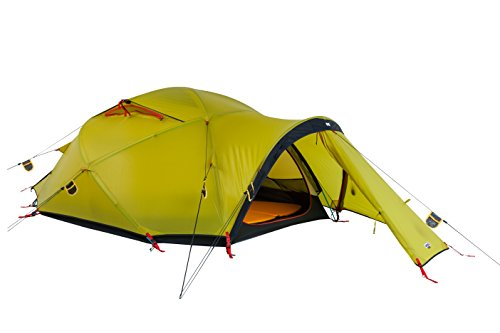 Wechsel Tents Precursor 4 Personen Geodät - Unlimited Line - Winter Expeditions Zelt, Cress Green