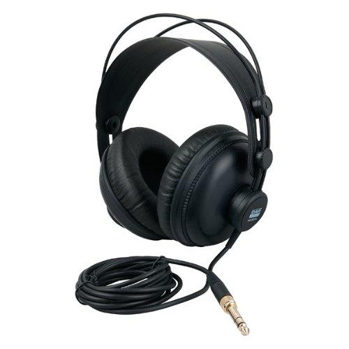 DAP HP-290 Pro Over-Ear-Kopfhörer – Kopfhörer (ohraufliegend, Kopfband, kabelgebunden, 10 – 30.000 Hz, 2,5 m, schwarz)
