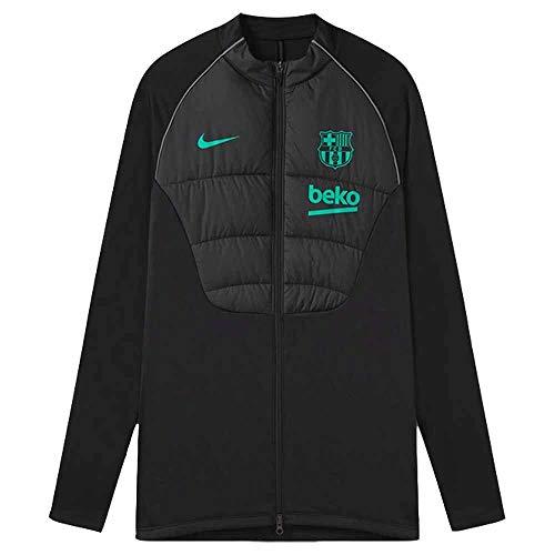 2020-2021 Barcellona Strike Winter Warrior Drill Jacket (nero)