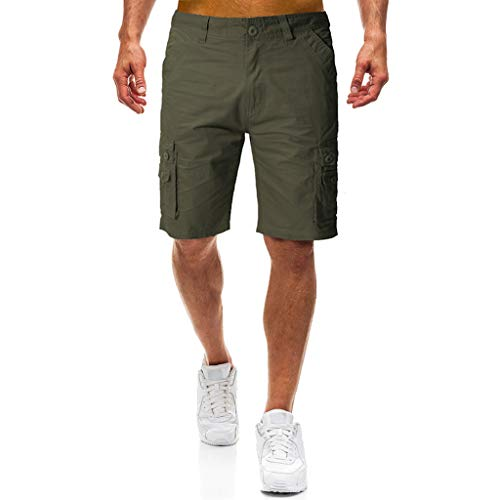 Purchase Rishine Men's Loose Fit Multi Pocket Cargo Shorts Walking Casual Golf Comfort Flat Front Sh...