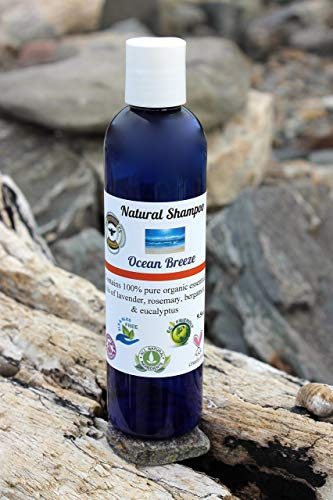 All Natural Organic Eco-Friendly Shampoo OCEAN BREEZE 9.5oz