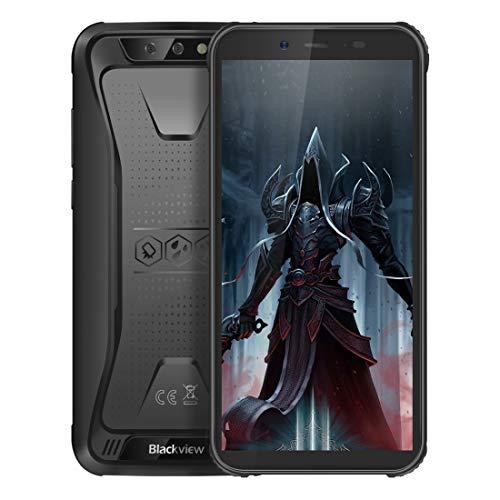 Phone BV5500 Pro Rugged Phone, 3GB + 16GB, IP68 a prueba de polvo a prueba de golpes a prueba de agua, cámaras traseras dobles, desbloqueo facial, batería de 4400mAh, Android de 9,5 pulgadas MTK6739 d