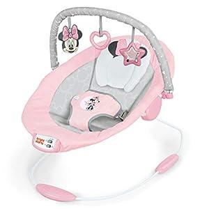 Bright Starts Minnie Mouse Rosy Skies - Hamaca bebé, color Rosa