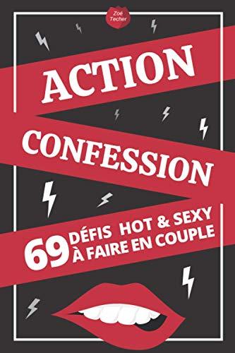 Action / Confession 69 Défis Hot & Sexy à Faire en Couple: Jeux Coquins et Sexuels pour Adultes | Idée Cadeau Original Saint-Valentin, Noël, Mariage | Pour Homme et Femme
