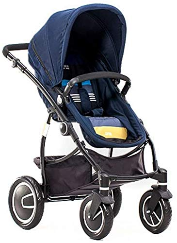 BESTPRVA Cochecito de bebé portable del carro del cochecito de bebé Cochecitos cochecito de bebé de alta paisaje puede sentarse y acostarse Suspensión de bebé plegable de la carretilla carro de bebé C