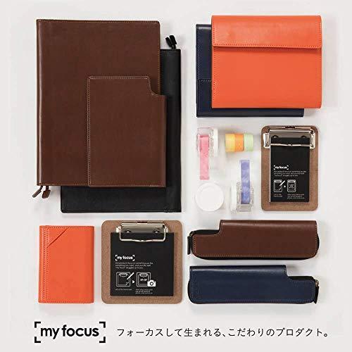 ナカバヤシmyfocusノートカバーA5オレンジMY-PB-A506OR