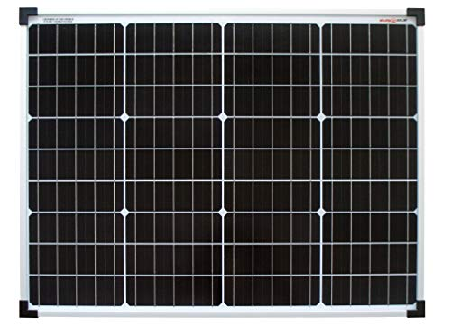 Solarv Mono 12V-36V Enjoysolar Monocrystalline 50 W 12 V Panel solar Mono, 50 W Ideal para ropa de cama Caravana