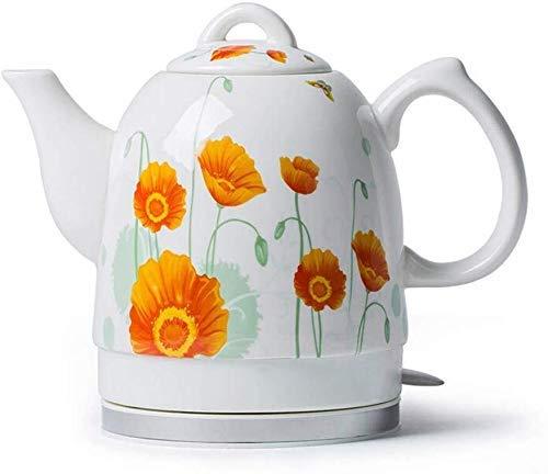 Bouilloires en céramique bouilloire électrique sans fil eau Teapot, 1.5L Teapot-Retro Jug, 1350W rapide 8bayfa
