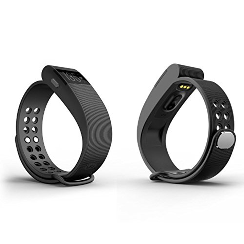Fitness Tracker Watch from JJPUNK - Best Wearable Smart Band for Activity Tracking with Pedometer, Calorie Counter and Alarm, Sleeping Monitor Smart Band Watch for Activity for iOS and Android