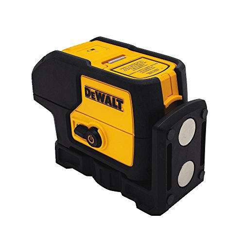 DEWALT Laser Level, 3 Spot, Green, 30-Foot Range (DW083CG)